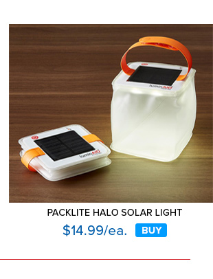 PackLite Halo Solar Light